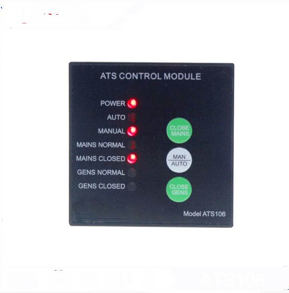 ATS106  diesel generator ats automatic transfer switch panel<br>