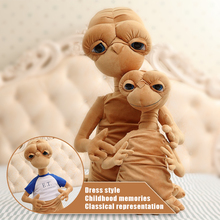 50cm E.T Alien The classic film surrounding plush toys Weird cartoon dolls Children's Day Christmas best gift(China)
