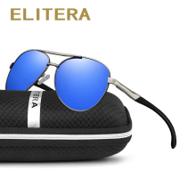Elitera High Quality Polarized Mirror Sun Glasses Male Driving Fishing Outdoor Eyewears Accessories Sunglasses For Men wholesale(China)