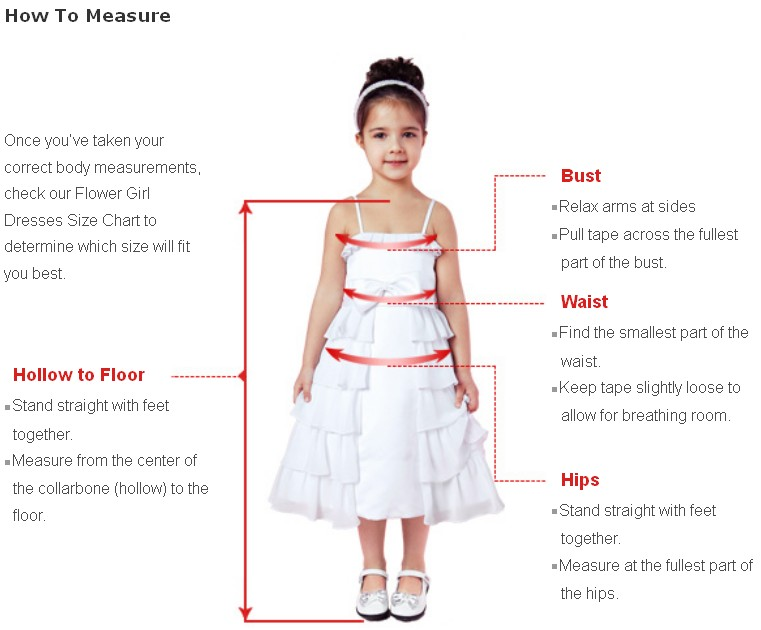 How to measure FG girl size
