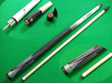 Free shipping high quality 1/2 Jointed Maple Shaft 11.5MM Leather Tip Billiard Pool Cue Stick Nine-ball Ball Arm quick joint cue