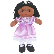16 Inch characters dolls cute girl dolls plush dolls black skin cute dolls(China)