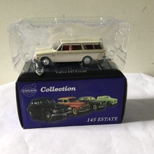 Collection ATLAS VOLVO 145 Estate CAR TOYS MODEL Scale 1:43 Diecast Alloy Car First Choice For Collector Beige Color