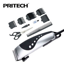 PRITECH Professional Electric Hair Trimmer Razor Men Beard Clipper Hair Cutting Machine Hair cutter Hair Barber Tools(China)