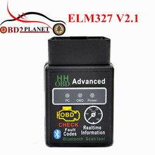 2017 New Release Version 2.1 Bluetooth ELM327 HH OBD Advanced Vgate ELM 327 V2.1 Bluetooth OBD2 Auto Car Adapter Scanner Tool