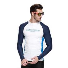 2017 Long Sleeves Swimwear Rashguard Surfing Diving Suits Shirt Clothing Uv Protection Upf50 Men Rash Guard Bodysuit Swimsuit