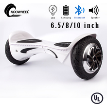 Newest bluetooth hoverboard skateboard  6.5/8/10 inch 2 wheels self balancing electric scooter hover boards Christmas gift UL