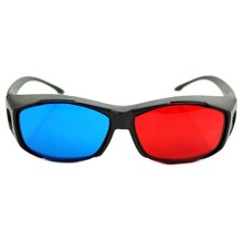 Universal Type 3D Glasses/Red Blue Cyan Anaglyph 3D Plastic Glasses
