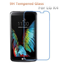 Buy LG K4 Screen Protector 9H Explosion Proof Premium Tempered Glass LG K4 K120E K130E Protective Film Guard for $1.41 in AliExpress store