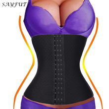 2015 dress XS fat burning body shaper weigh loss corset waist trainer postpartum belly band full body girdles for women(China)