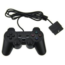 Wired Dual Shock Controller Compatible for Sony PS2 Console Video Game
