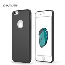 G.D.SMITH Original Slim Cover Case for iPhone 7 Luxury Scrub Mobile Phone Coque For Apple iPhone 7 4.7″ With Package
