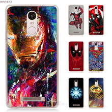 Buy BINYEAE Super Funny Cool Hero SuperMan Iron Man Deadpool Transparent Case Cover Xiaomi Redmi Mi Note 4X 2 3 3S 4A 5 5S 5X 5A for $1.84 in AliExpress store