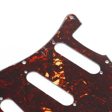 Red Tortoise Pickguard Scratch Plate For Stratocaster Electric Guitar