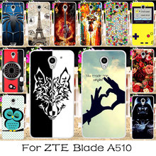 TAOYUNXI DIY Soft TPU Case For ZTE Blade A510 Cases Silicone Flexible Anti-knock A 510 A2 Cover For ZTE Blade A510 Covers Skin(China)
