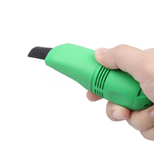 Kebidumei Kebidumei NEW Computer Keyboard Vacuum Cleaner USB Vacuum Cleaner Mini Cleaner Clean Computer(China)