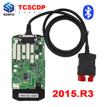 Green Single Board TCS CDP PRO 2015.R3/2014.R2 with Keygen Bluetooth OBD OBD2 Cars and Trucks Diagnostic Scanner Tool