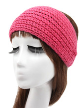 24colors Retail Women Crochet Turban Knit Headwrap  Light board winter Ear  warm wool handmade headband