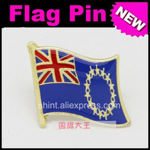 Lapel Pins Cook Islands Flag Pins All Over The World Badge Emblem Country State Pins