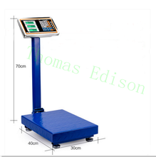 100KG 220V to 6V Folding electronic scales  electronic platform scale  Express scales