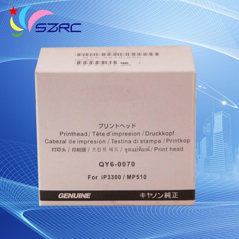Original Print Head QY6-0070 Printhead Compatible For Canon IP3500 IP3300 MX700 MP510 MP520 Printer Head<br>