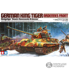 OHS Tamiya 35252 1/35 German King Tiger Ardennes Front Military Assembly AFV Model Building Kits(China)