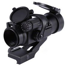 32mm M2 Sighting Telescope Professional Hunting Telescope Laser Gun Sight with Reflex Red Green Dot Scope for Picatinny Rail(China)