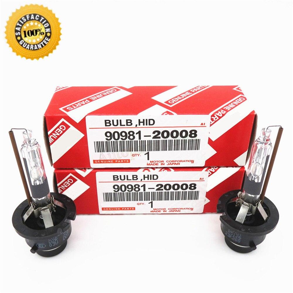 (2pcs/lot) For Toyota Lexus Hid Xenon Bulb D2S D2R D4S D4R 4300K 6000K 12V 35W 90981-20005 Discharge Headlamp Headlight<br><br>Aliexpress