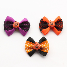100 Pcs Armi store Handmade Lace Ribbon Dog Bow Halloween Bows For Dogs 6026006 Puppy Hair Supplies Wholesale.