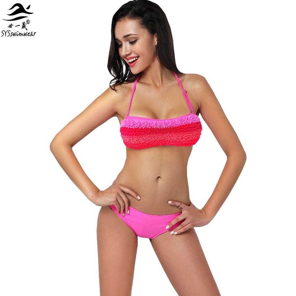 Summer clothing Sexy Bikini Women Blossom Bikini Swimwear Soft bra Biquini Swimsuit Big bust Bikini Bathing suit<br><br>Aliexpress