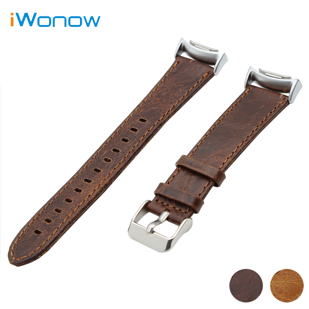 Genuine Leather Watch Band 20mm for Samsung Gear S2 SM-R720 / R730 Crazy Horse Strap Quick Release Wrist Belt Bracelet +Adapters<br><br>Aliexpress