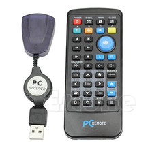 Wireless USB Laptop PC Mouse Keyboard Remote Control Media Center Controller Brand New High Quality Practical