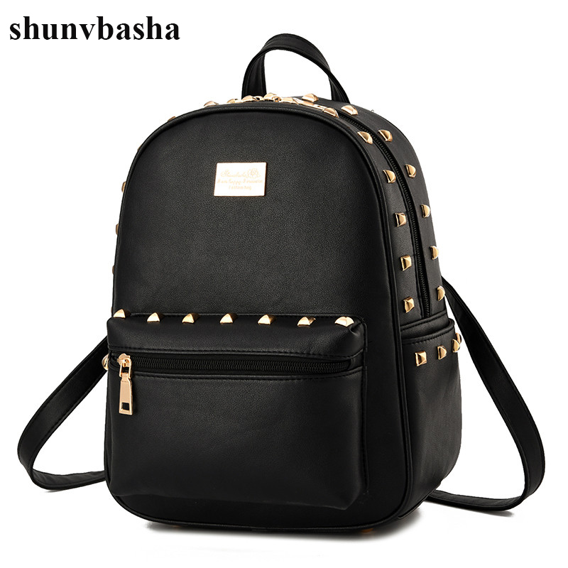 Hot Sale Fashion Leather Backpacks Women High Capacity Brand School Bag For Teenage Girls Casual Style Designer Mochila Female<br>