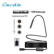 NEW ! 8 LED Mini Camcorder mini Camera 1m/3m/5m/7m/10m for PC Android Endoscope 5.5mm Lens Waterproof Borescope Inspection apr13