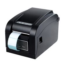 Cheap thermal label printer 20-82mm adhesive stickers impressora for warehouse and store USB QR ptinter HS-80B01