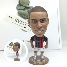 Soccerwe figurine sports football stars AC Ronaldo #99 Movable joints resin model toy action figure dolls collectible gift