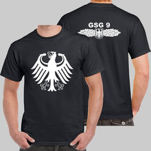 New Police Military T Shirt Men Cotton Counter Terrorism Special Operations Unit T-shirt Tee German France GSG 9 Shirt Camisetas