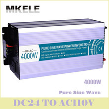 Inverter MKP4000-241 Pure Sine Wave 4000W Power 24v To 110vac Voltage Converter Solar LED Digital Display China(China)