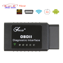 Newest ELM327 Viecar WIFI OBD2/OBDII Auto Diagnostic Scanner Tool wi fi ELM 327 Viecar Car Code Reader for Smartphone/PC/IOS