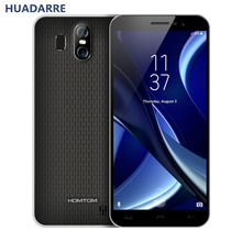 HOMTOM S16 MTK6580 quad core 5.5 inch 18: 9 Wad Base Andriod 7.0 Fingerprint 1280 * 640 HD 2G RAM 16G ROM 3000mA Mobile Phone(China)