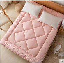 new year 1M Home Textile Mattress thick cotton mattess bed cushion bed pad keep warm two side winner mat 2015 n Free shipping(China)