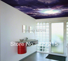 U-4126 universal print stretch ceiling film similar as 3d ceiling tiles