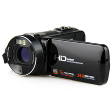 "HDV-90E 3.0"" Inch  TFT LCD Touch Screen 16MP 1080P HD Anti-shake  5X Optical Zoom Digital Video Camera Camcorder HDMI 16X Zoom"