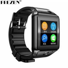 FREZEN G9 1.54 TFT Bluetooth Touch Smartwatch Phone MTK2502C Wrist Smart Watch Video Radio Support TF SIM Card For IOS Android