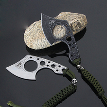 Multifunctional Outdoor Camping Axe Mini Pocket Tactical Tomahawk Army Hunting Survival Axes edc Hand Tool Fire Hatchet H08