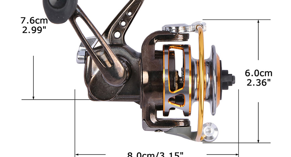 x_07 fishing spinning reel