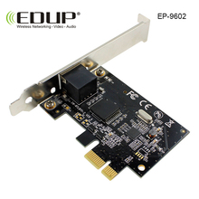 EDUP pci-e 10/100/1000Mbps Hign Speed pci wireless adapter pcie Gigabit Ethernet Network LAN PCIe Card Network Adapter(China)