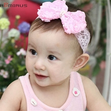 ROMIRUS Modern 2017 Baby Girl Hair Accessories Bowknot Headband For Newborn Toddle Hair Band Photography Props Mar6