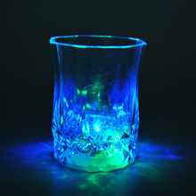 LED Light Flashing Cup Small Beer bar Mug Drink Cup octagonal Nightclub For Parties Wedding Clubs Christmas halloween decoration
