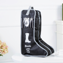 Fashion Handle Boots Storage Bags Dust Cover Shoes Clothing Wardrobe Holder Home Organizer Accessories Supplies Gear Product
